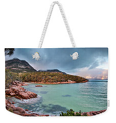 Sleepy Bay Weekender Tote Bag