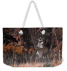 Sleepy Buck Weekender Tote Bag
