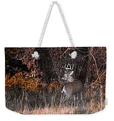 Sleepy Buck Weekender Tote Bag