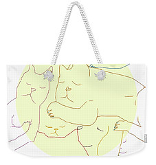 Sleepy Heads Weekender Tote Bag by Mary Armstrong
