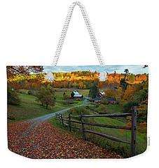 Sleepy Hollow Farm- Pomfret Vt Weekender Tote Bag