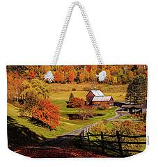 Sleepy Hollow - Pomfret Vermont-2 Weekender Tote Bag