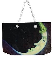 Sleepy Moon's Twin Brother Weekender Tote Bag