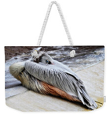 Sleepy Pelican Weekender Tote Bag
