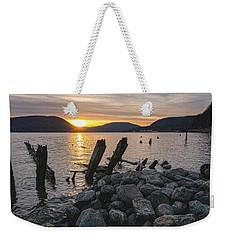 Sleepy Waterfront Dream Weekender Tote Bag by Angelo Marcialis