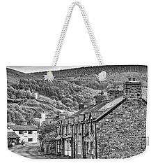Sleepy Welsh Village Weekender Tote Bag