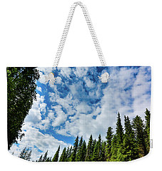 Slice Of Sky Weekender Tote Bag
