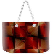 Weekender Tote Bag featuring the photograph Sliced And Diced by Jack Dillhunt