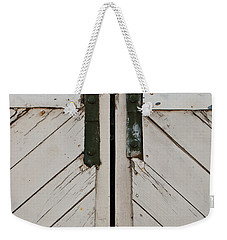 Sliding Barn Door 3 Weekender Tote Bag