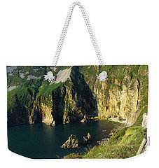 Weekender Tote Bag featuring the photograph Slieve League Cliffs Eastern End by RicardMN Photography