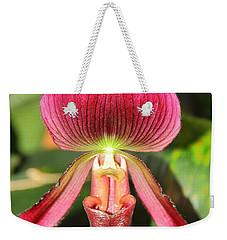 Slipper Orchid 2 Weekender Tote Bag