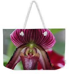 Slipper Orchid Weekender Tote Bag