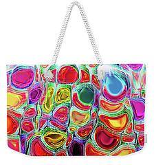 Weekender Tote Bag featuring the digital art Slipping And Sliding by Menega Sabidussi