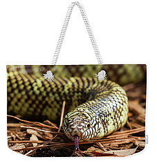 Slither Snake Weekender Tote Bag
