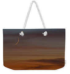 Sliver Weekender Tote Bag