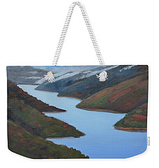 Sliver Of Crystal Springs Weekender Tote Bag