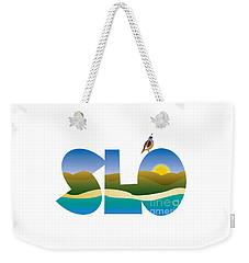 Slo Morning Weekender Tote Bag
