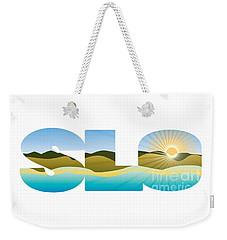 Slo Sunrise Weekender Tote Bag