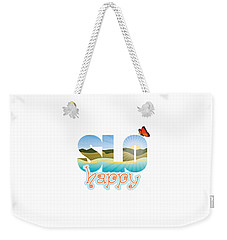 Slohappy With Monarch Weekender Tote Bag