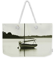Weekender Tote Bag featuring the photograph Sloop At Rest  by Roupen  Baker