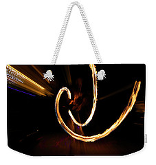 Slow Motion Weekender Tote Bag