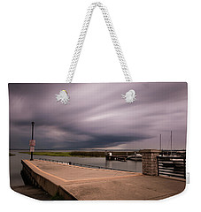 Slow Summer Storm Weekender Tote Bag