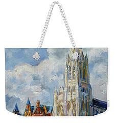 Slu - Grand And Lindell, Saint Louis Weekender Tote Bag