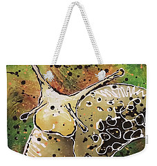 Slug Oh Weekender Tote Bag by Phyllis Howard