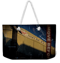 Weekender Tote Bag featuring the photograph Sma Ssorc Der As by Paul Job