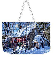Small Abandon House Weekender Tote Bag by Alana Ranney