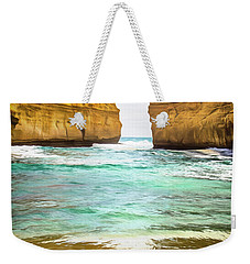 Weekender Tote Bag featuring the photograph Small Bay by Perry Webster