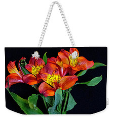 Small Bouquet Of Flowers Weekender Tote Bag