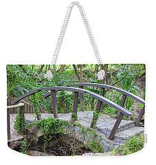 Small Brown Bridge Weekender Tote Bag