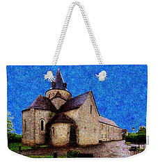 Small Church 3 Weekender Tote Bag by Jean Bernard Roussilhe