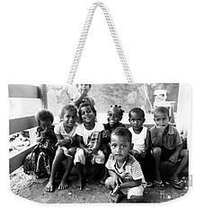 Small Faces Of Nagara Weekender Tote Bag