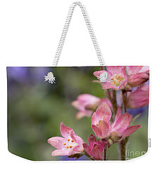 Small Flowers Weekender Tote Bag by Tine Nordbred