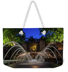 Small Fountain Weekender Tote Bag