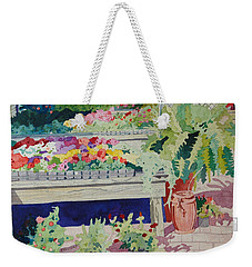 Small Garden Scene Weekender Tote Bag