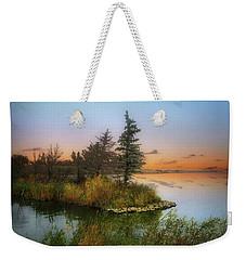 Small Island Weekender Tote Bag