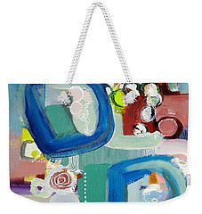 Small Talk Weekender Tote Bag