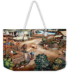 Small Town Community Weekender Tote Bag by Ian Gledhill