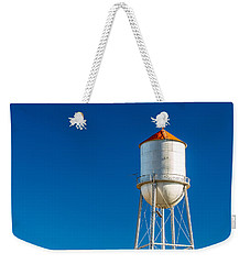 Small Town Water Tower Weekender Tote Bag