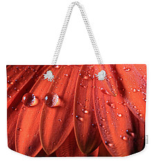 Small Water Drops Weekender Tote Bag