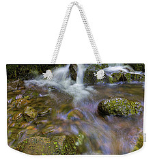 Small Waterfalls Along Wahkeena Creek Weekender Tote Bag