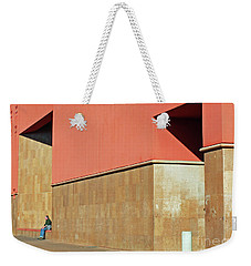 Weekender Tote Bag featuring the photograph Small World by Joe Jake Pratt