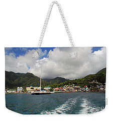Smalll Village Weekender Tote Bag
