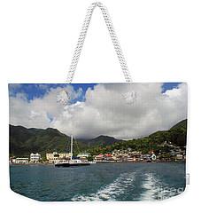 Smalll Village Weekender Tote Bag