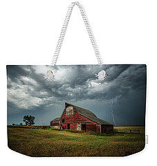 Weekender Tote Bag featuring the photograph Smallville by Aaron J Groen
