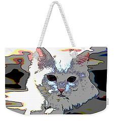 Smart Cat Weekender Tote Bag by Charles Shoup