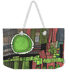 Sun Gone Green Weekender Tote Bag